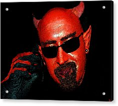 The Devil You Say Acrylic Print by David Lee Thompson