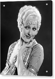 The Devils Brother, Thelma Todd, 1933 Acrylic Print by Everett