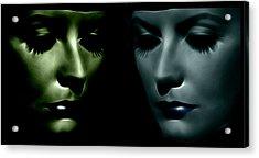 The Divine 2 Acrylic Print by Steve K