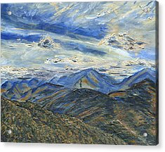 The Dix Range From Giant Peak Acrylic Print