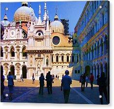 The Doge's Palace Venice Acrylic Print