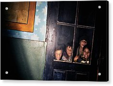 The Door That Never Opens Acrylic Print by Emanuel Tanjala