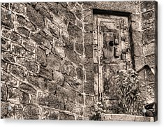 The Door To Nowhere  Acrylic Print by JC Findley