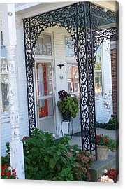 The Door's Unlock Acrylic Print by Paul Washington