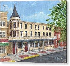 The Doylestown Inn Acrylic Print
