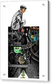 The Dream Machine Acrylic Print by Spencer Bower