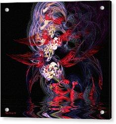 The Dream Acrylic Print by Wayne Bonney