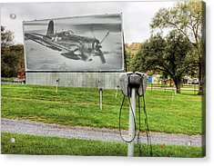 The Drive In Movie Acrylic Print by JC Findley