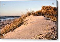 The Dunes Of Jones Beach Acrylic Print by JC Findley