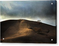 The Earth Moved When You Loved Me Acrylic Print by Laurie Search