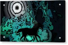 Acrylic Print featuring the photograph The Eclipsed Horse by Jessica Shelton