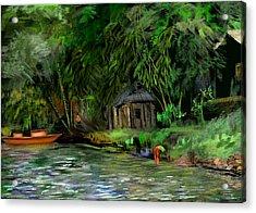 The Eco Village Acrylic Print
