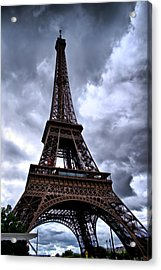 The Eiffel Tower Acrylic Print by Edward Myers