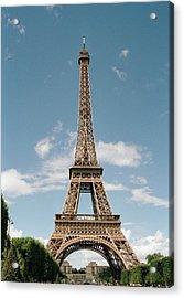 The Eiffel Tower, Paris Acrylic Print by Martin Diebel