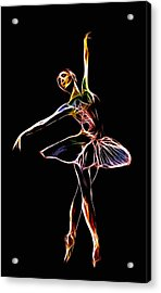 The  Electric Diva Acrylic Print by Steve K
