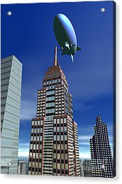 The Empire Revisited Acrylic Print by Walter Oliver Neal