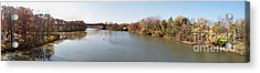 Acrylic Print featuring the photograph The Erie Canal Crossing The Genesee River by William Norton