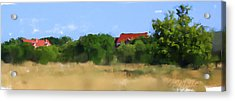 The Eschweiler Buildings Acrylic Print by Geoff Strehlow