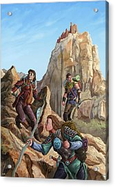 The Explorers Color Acrylic Print by Storn Cook