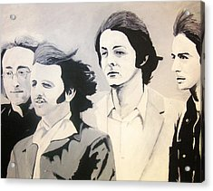 The Fab Four Acrylic Print