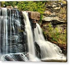 Acrylic Print featuring the photograph The Face Of The Falls by Mark Dodd