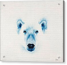 Acrylic Print featuring the painting The Face Of The North by Annemeet Hasidi- van der Leij