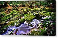 The Fairy Brook Acrylic Print by Kim Shatwell-Irishphotographer
