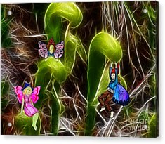 The Fairy's Playground Acrylic Print by Methune Hively