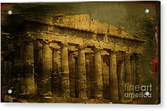 The Fall Of Athens Acrylic Print by Lee Dos Santos