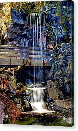The Falls Acrylic Print by Deena Stoddard