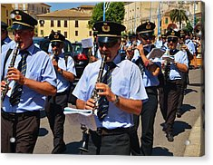 The Fanfare Acrylic Print by Dany Lison