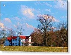 Acrylic Print featuring the photograph The Farm by Bob Whitt