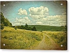 The Farm Road Acrylic Print