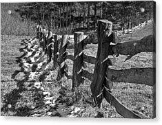 The Fence Acrylic Print