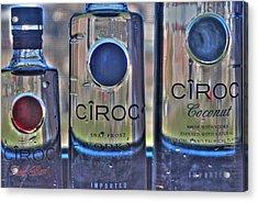 The Finest Of Vodka Ciroc Acrylic Print