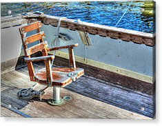 The Fishing Chair Acrylic Print