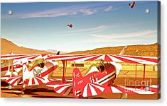 The Flying Circus Reno Air Races Acrylic Print