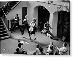 The Flying Quartet Covent Garden Acrylic Print by Aldo Cervato