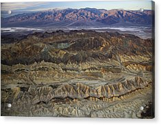 The Foothills Of Amargosa Canyon Acrylic Print by Michael Melford