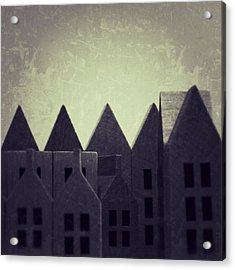 The Forgotten Town - 35 Acrylic Print by Mirko Lamonaca