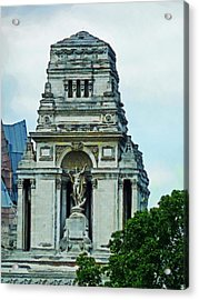 The Former Port Of London Authority Building Acrylic Print by Steve Taylor