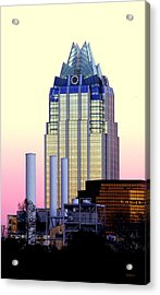 The Frost Tower  Acrylic Print by Lisa  Spencer