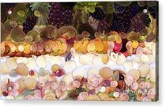 The Fruit Acrylic Print by Odon Czintos