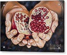 The Fruit Of Jesus' Sacrifice II Acrylic Print by Ilse Kleyn