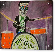 Acrylic Print featuring the painting The Gabes by Everette McMahan jr