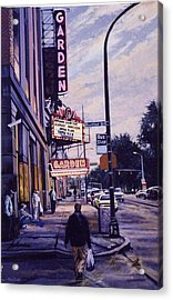 The Garden Theater Acrylic Print by James Guentner