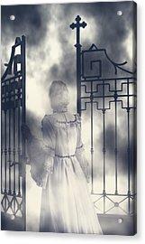 The Gate Acrylic Print by Joana Kruse