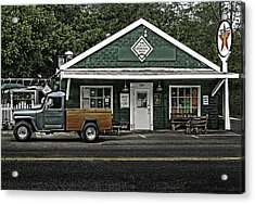 The General Store Acrylic Print by Don Lovett