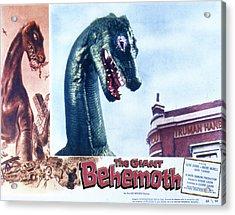 The Giant Behemoth, 1959 Acrylic Print by Everett