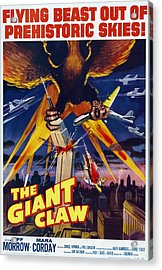 The Giant Claw, Poster, 1957 Acrylic Print by Everett